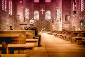 God beyond the walls of church - photo